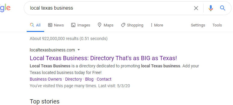 Local Texas Business