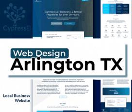 Web Design Arlington Texas